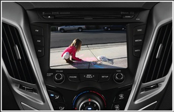 Backup camera and parking assist