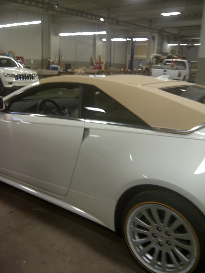 Simulated Convertible Tops